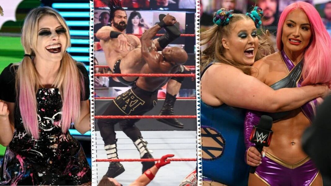 WWE Raw vom 14. Juni 2021