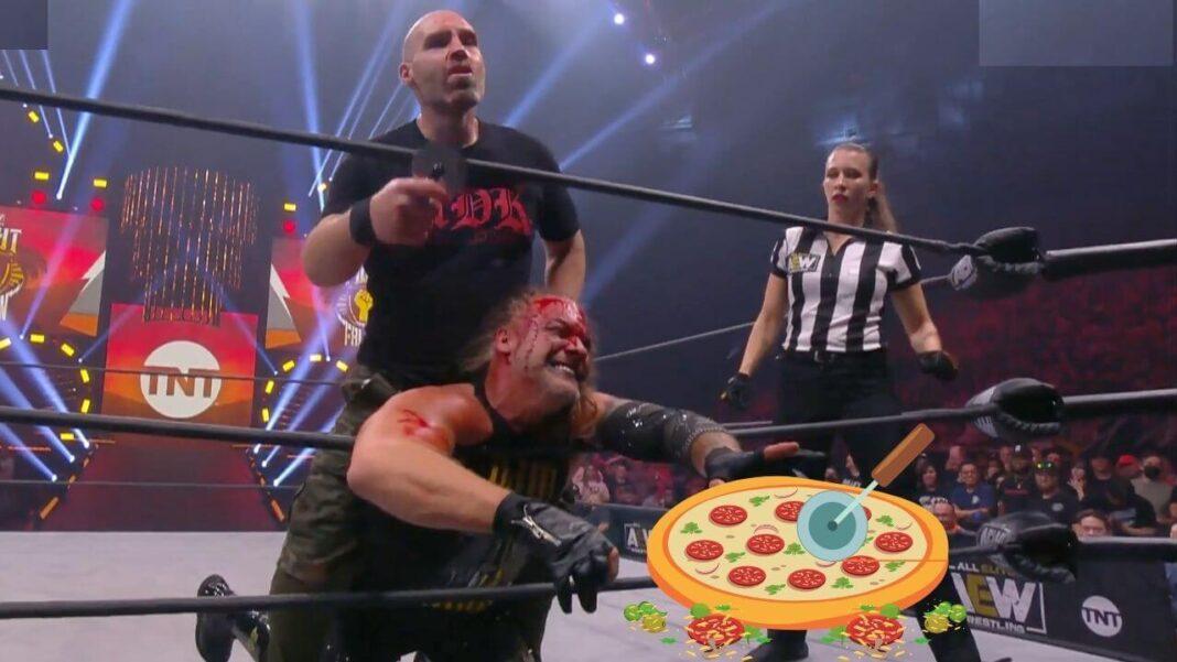 Pizza-Ärger nach dem Death Match bei AEW Dynamite