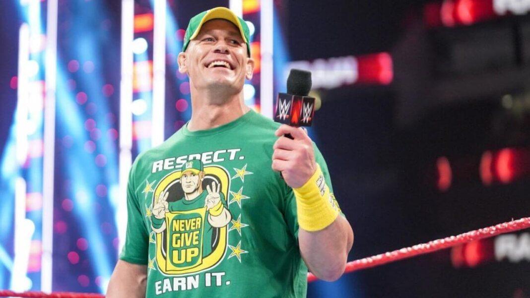 John Cena erfreut die Fans im Juli 2021 - Bild: (c) 2021 WWE. All Rights Reserved.