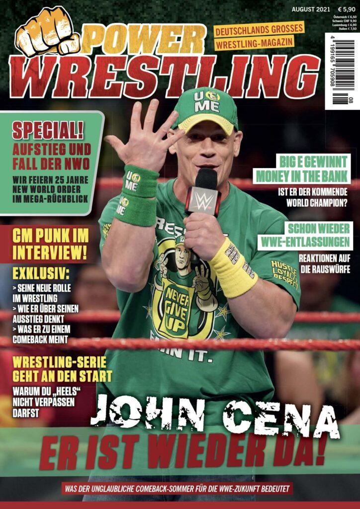 Power-Wrestling August 2021
