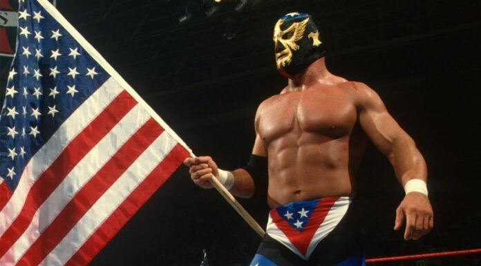 """""""The Patriot"""" Del Wilkes - (c) WWE. All Rights Reserved."""
