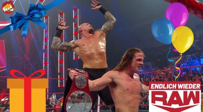 Endlich wieder Raw - Ausgabe zu WWE Raw vom 23.8.21