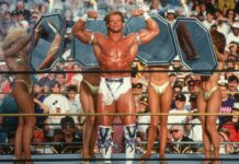 Lex Luger bei WrestleMania IX - (C) WWE. All Rights Reserved.