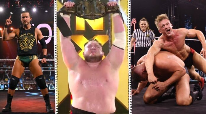 WWE NXT TakeOver 36