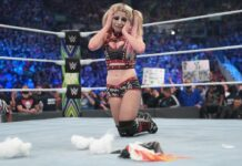 Alexa Bliss trauert um Puppy Lilly bei Extreme Rules - (c) 2021 WWE. All Rights Reserved.