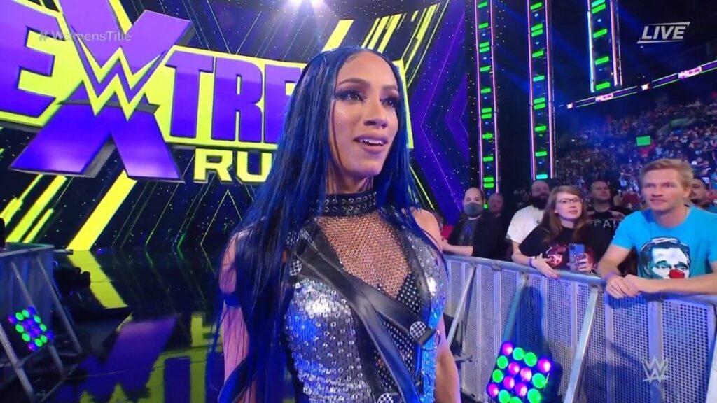 Sasha Banks meldet sich bei Extreme Rules zurück - (c) 2021 WWE. All Rights Reserved.