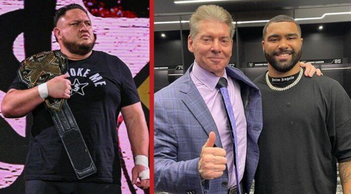 WWE-News, Samoa Joe ist seinen Titel los, McMahon mit Olympia-Sieger Steveson