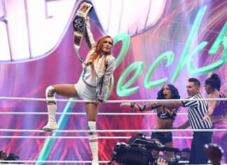 SmackDown Women's Champion Becky Lynch - Raw vom 11.10.21 - (c) 2021 WWE. All Rights Reserved.