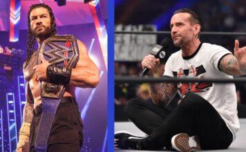 Roman Reigns und CM Punk haben sich am 15.10. im direkten Duell zwischen WWE und AEW knapp verpasst!