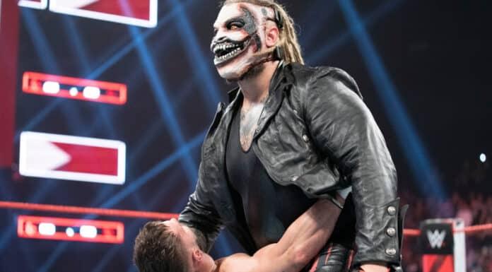 """The Fiend"" Bray Wyatt bringt Sister Abigail gegen Finn Bálor - (c) 2021 WWE. All Rights Reserved."
