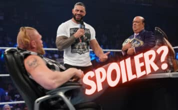 """Roman Reigns trifft am Donnerstag auf Brock Lesnar bei """"Crown Jewel"""" - (c) 2021 WWE. All Rights Reserved."""
