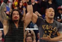 The Rock unterstützt Roman Reigns - WWE Royal Rumble 2015