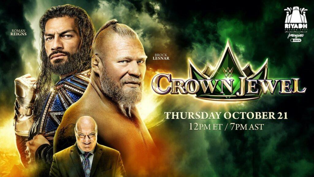 Brock Lesnar trifft auf Universal Champion Roman Reigns bei WWE Crown Jewel 2021