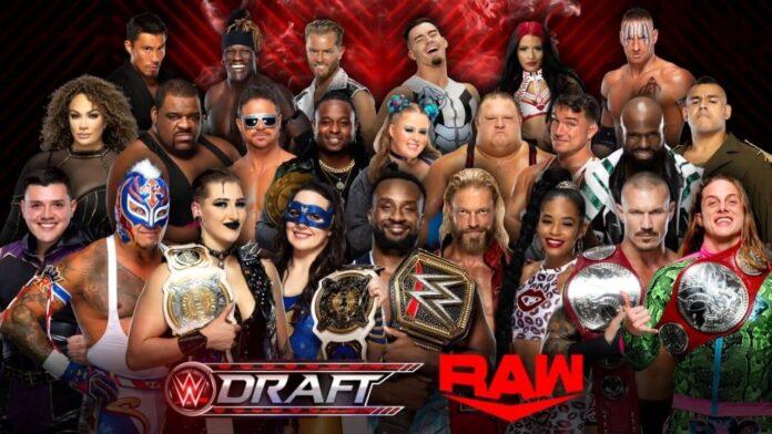 WWE Draft 2021 - die Fortsetzung bei Raw