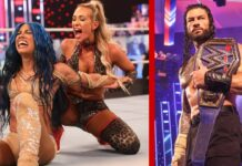 Sasha Banks vs. Carmella gab's bei TLC 2020 / Roman Reigns soll die Fans nach Long Island locken - Fotos: (c) WWE.