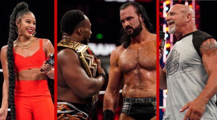 Draft-Nacht: WWE Raw vom 4. Oktober 2021 - Fotos: (c) WWE. All Rights Reserved.