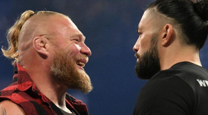 Brock Lesnar überrascht Roman Reigns bei WWE SmackDown - 1. Oktober 2021