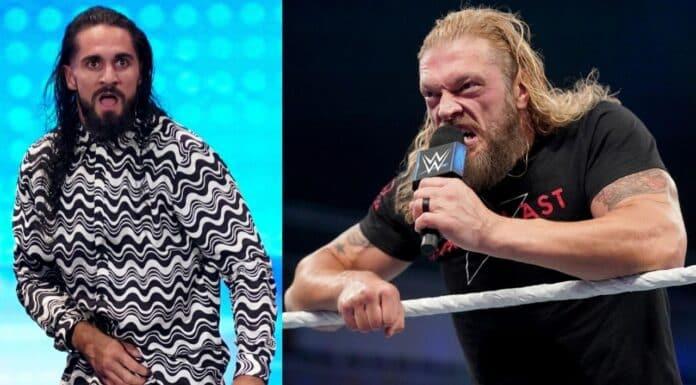 Diese Edge-Botschaft schockiert Seth Rollins - WWE SmackDown - 8. Oktober 2021